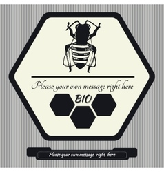 Emblem for honey7 vector