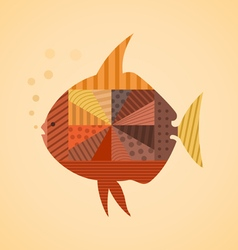 Abstract fish3 vector image
