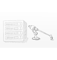 Big data analysis sketchy vector