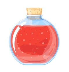 Big elixir bottle vector