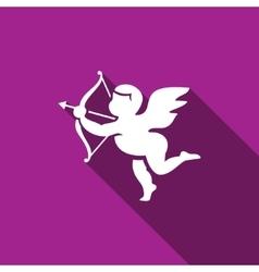 Cupid icon vector image vector image