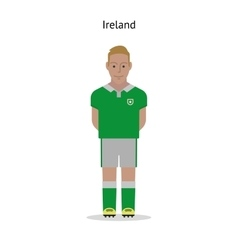 Football kit ireland vector