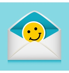 message in an envelope vector image vector image