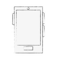 Smartphone mobile technology vector
