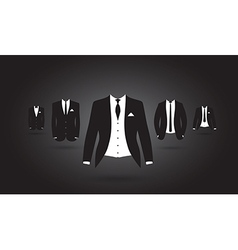 Suit group vector