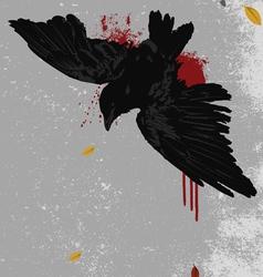 Dead bird vector