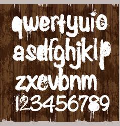alfabet vector image