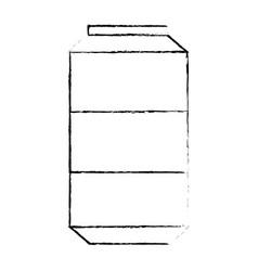 Soda can isolated vector