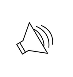 Speaker icon imag vector