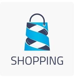 Template logo shopping vector