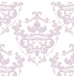 Vintage damask royal ornament element vector