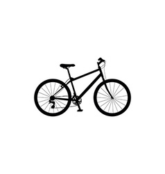 bicycle symbol vector image