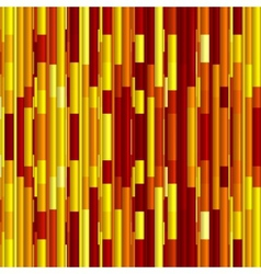 Bright red and yellow stripes abstract background vector image