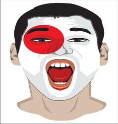 Go Japan vector image vector image