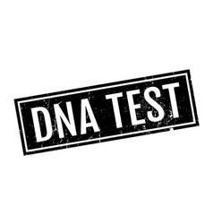 dna test rubber stamp vector image