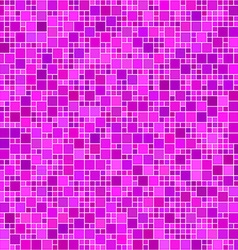 Magenta square mosaic background vector