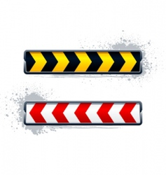 direction arrows vector image vector image