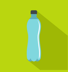 water bottle icon flat style vector image