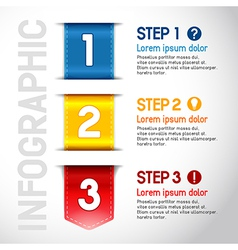 Progress steps vector