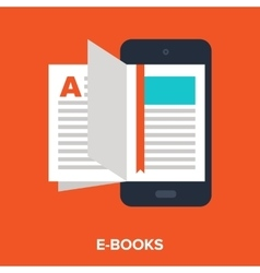 E-books vector