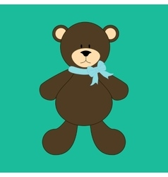 Bear toy vector
