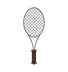 Isolated racket of tennis design vector