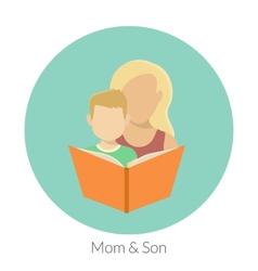 Motherhood vector image