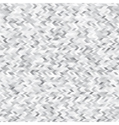 Triangles white and grey abstract background vector image vector image