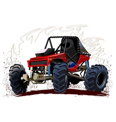 Cartoon Buggy vector image