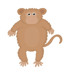 Ape cute vector
