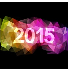 Fantasy 2015 new year background vector