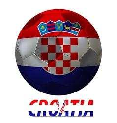 croatia vector image vector image