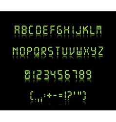 Digi font vector
