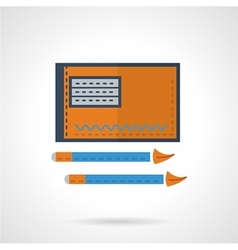 Drawing flat icon vector