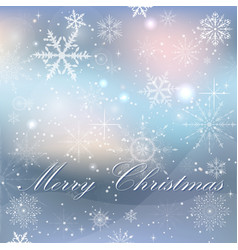 elegant christmas background with vector image vector image