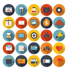 Mega set of flat icons vector