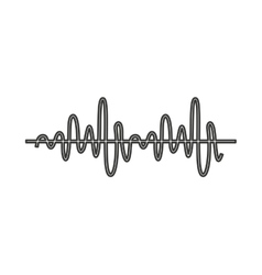 Equalizer audio isolated icon vector
