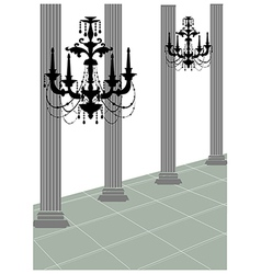 Chandler roman column vector