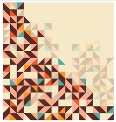abstract geometric vector image vector image
