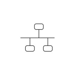 Ethernet icon vector