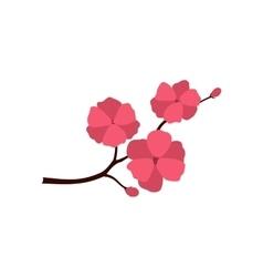 Sakura icon flat style vector