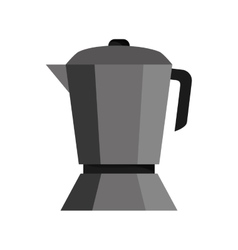 Coffee kettle shop design vector