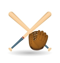 Baseball design sport and supplies vector