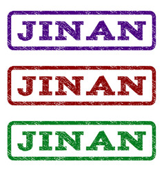 Jinan watermark stamp vector