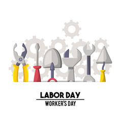 Profesional labor day national celebration vector