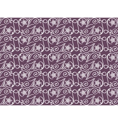 seamless lilac pattern vector image vector image
