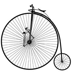 velocipede vector image