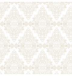 Damask pattern ornament imperial style vector