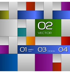 Colors squares vector