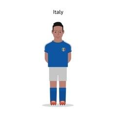 Football kit Italy vector image